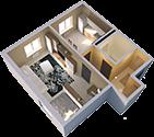 Покупка квартиры (можно в строящемся доме)/доли к квартире